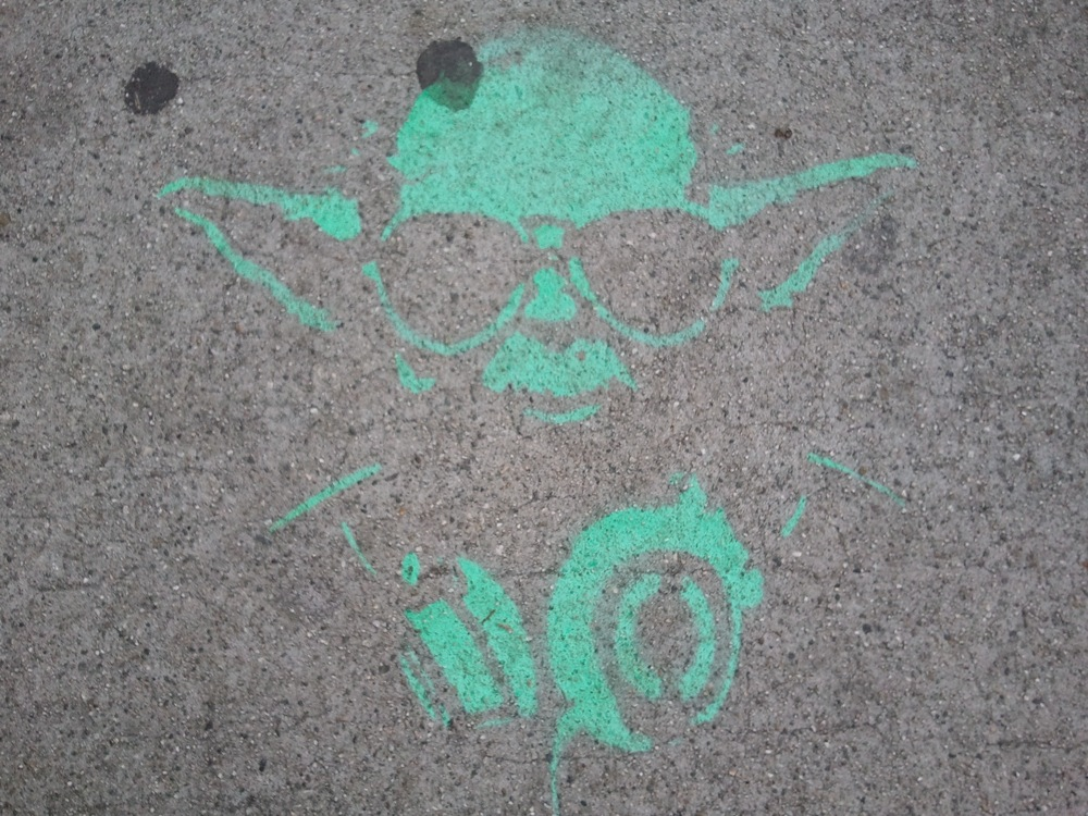 Yoda on Sunset
