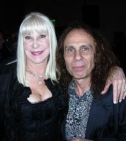 RONNIE JAMES AND WENDY DIO